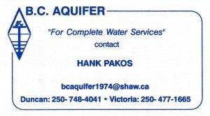 B.C. Aquifer