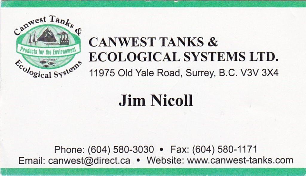 Canwest Jim Nicoll