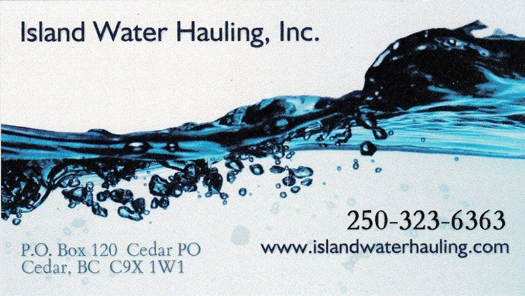 Island Water Hauling