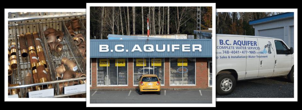 BC Aquifer store