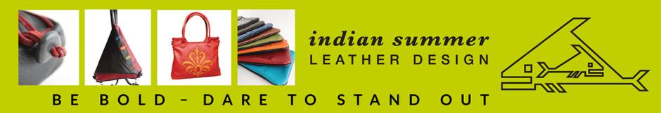 Indian Summer Leather Design logo