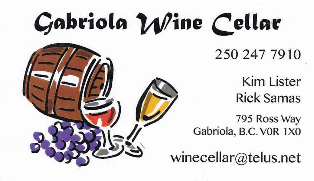 Gabriola Wine Cellar