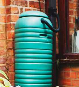 roof to rain barrel