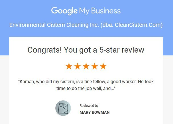 Google review fom May Bowman