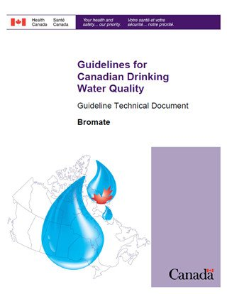 image of bromate guideline in drinking water