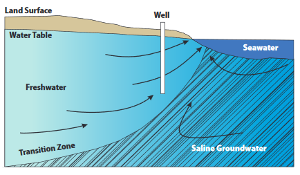 Saltwater Intrusion - Figure 1