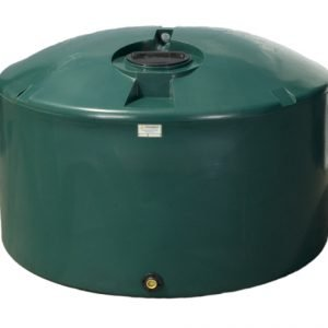 1660 gallon poly cistern for water storage