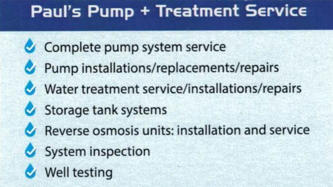 Paul's Pump + Treatment Services