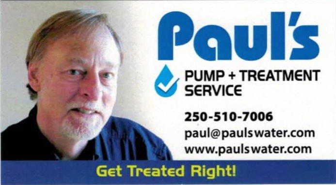 Paul's Pump + Treatment Service